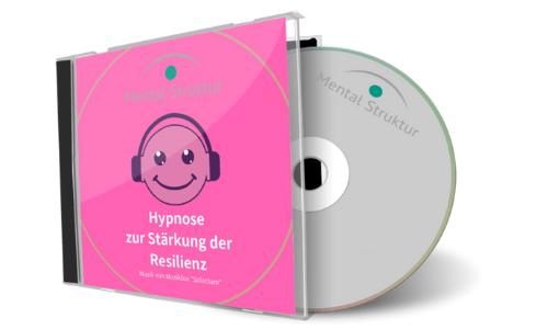 CD-Cover für die Hypnose zur Stärkung der Resilienz