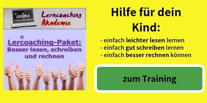 Hilfe für dein Kind - Lerncoaching