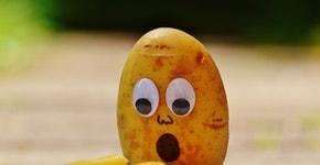 ängstliche Kartoffel