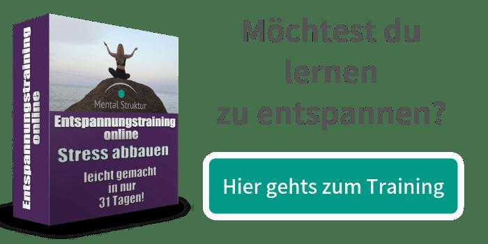 Banner für Entspannungstraining online