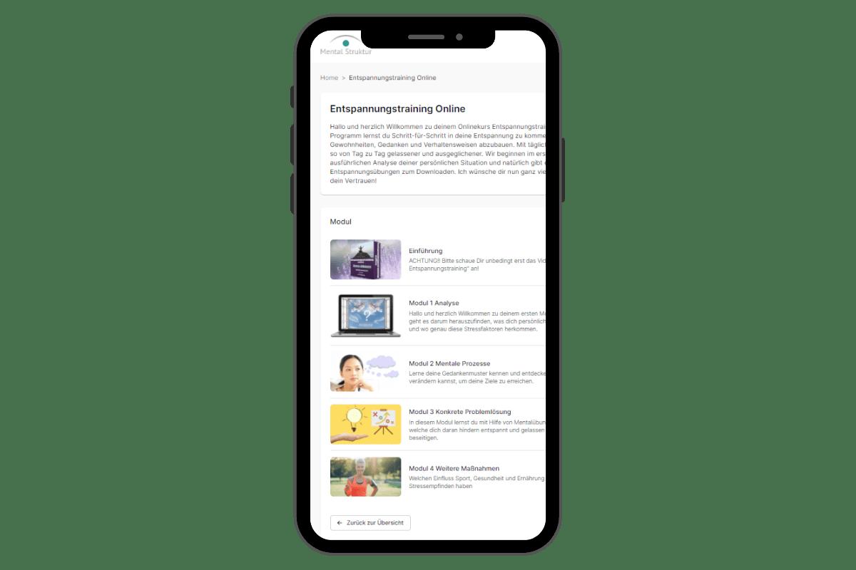 App mit Entspannungstraining