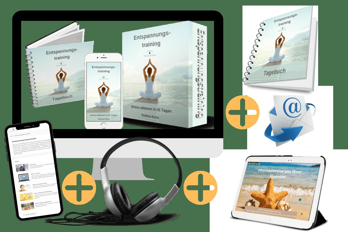 Online-Kurs Entspannungstraining + Boni